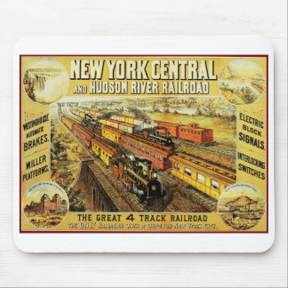 New York Central Mouse Pad