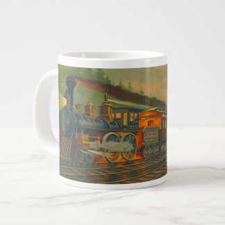 New York Central Railroad 1884 Large Coffee Mug