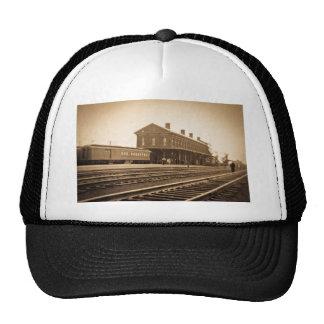 New York Central Railroad Depot Vintage Trucker Hat
