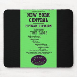 New York Central Railroad Putnam Division Mouse Pad