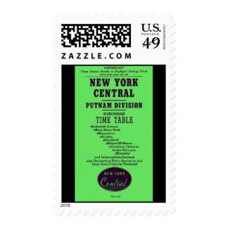 New York Central Railroad Putnam Division Postage Stamp