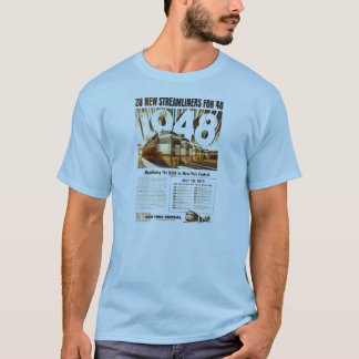 New York Central Streamliners 1948 Shirts
