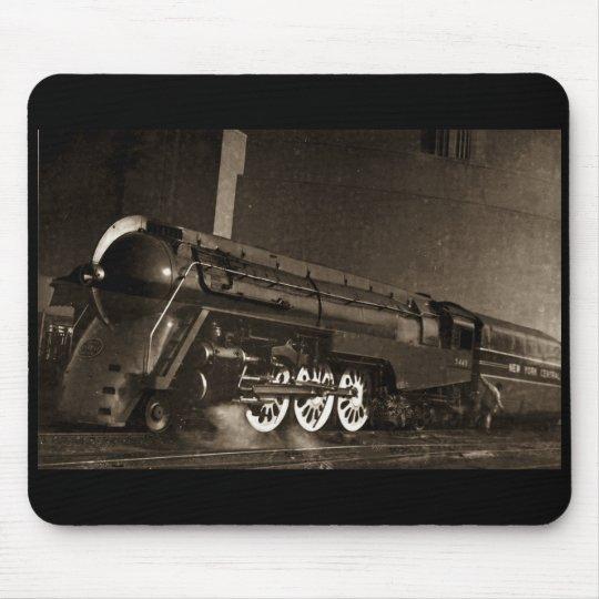 New York Central Vintage Art  Deco Train Mouse Pad