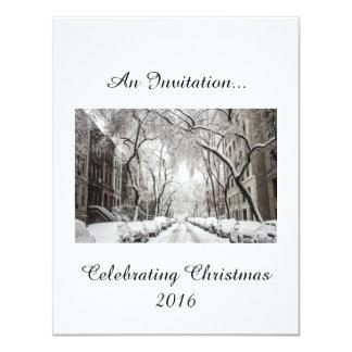 New York Christmas Drinks Card