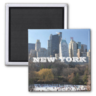 NEW YORK CHRISTMAS FRIDGE MAGNETS
