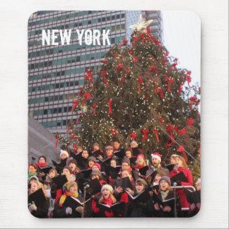 NEW YORK CHRISTMAS MOUSE MATS