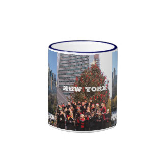 NEW YORK CHRISTMAS MUGS