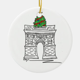 New York Christmas Ornament - Washington Sq
