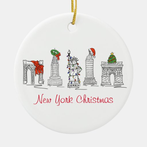 New York Christmas Ornaments
