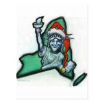 New York Christmas Post Cards
