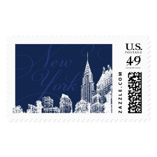 New York Chrysler | Atelier Isabey Stamps