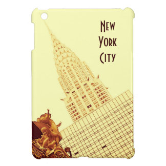 New York - Chrysler Building and Central Station iPad Mini Cover