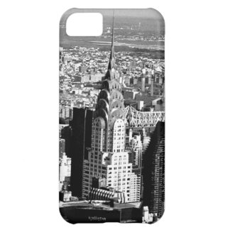 New York Chrysler Building in Black and White iPhone 5C Cover