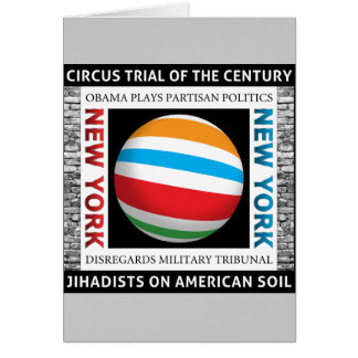New York Circus Trial Card