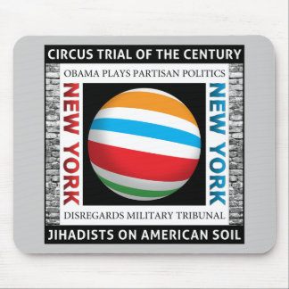 New York Circus Trial Mouse Pad
