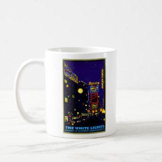 New York City 1925 en la noche Taza De Café