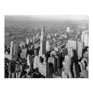 New York City, 1932 VINTAGE PHOTO PRINT