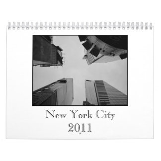 New York City 2011 Calender Calendar