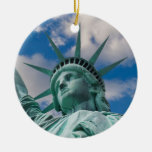 New York City 2012 Double-Sided Ceramic Round Christmas Ornament