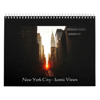New York City 2013 Calendar - Iconic Views