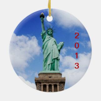 New York City 2013 Ceramic Ornament