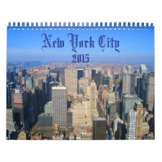 New York City 2015 photography calendar