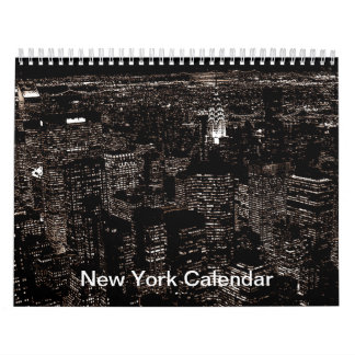 New York City 2017 Calendar