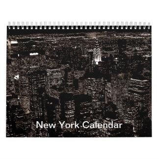 New York City 2017 Calendar