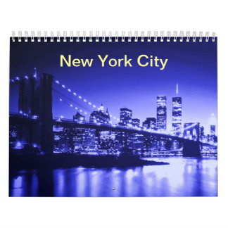 New York City 2017 Calendario De Pared
