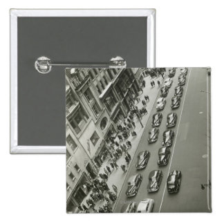 New York City 2 2 Inch Square Button