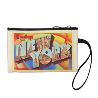 New York City #2 NY Large Letter Travel Postcard - Coin Purse