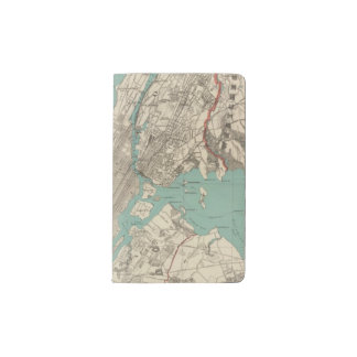 New York City 2 Pocket Moleskine Notebook Cover With Notebook
