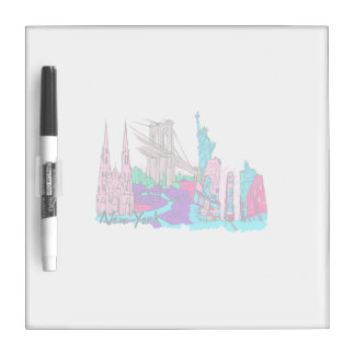 new york city 3 city image.png Dry-Erase board