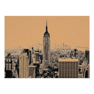 New York City 5.5 x 6.5 Invitation