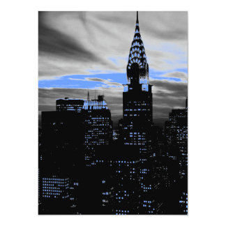 New York City 5.5 x 6.5 Invitation