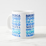 New York City Acronyms Jumbo Mugs