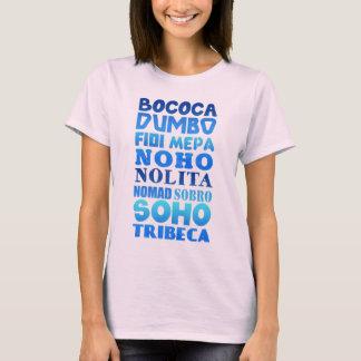 New York City Acronyms T-Shirt