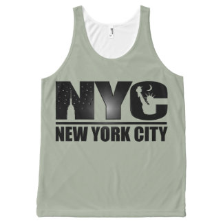 New York City All-Over Print Tank Top