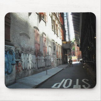New York City Alley on a Summer Day Mouse Pad