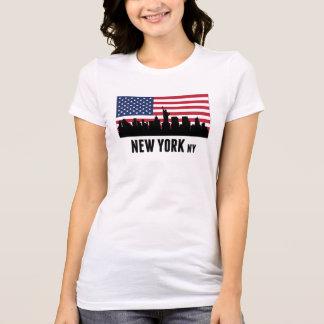 New York City American Flag T-Shirt