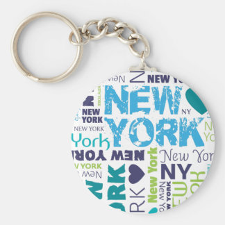New York City american souvernir keychain