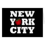 New York City (Apple grande) Felicitación