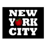 New York City (Apple grande) Tarjetas Postales