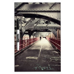 New York City Architecture - Williamsburg Bridge Dry Erase Whiteboards