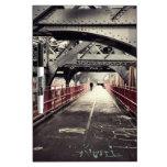 New York City Architecture - Williamsburg Bridge Dry Erase Board