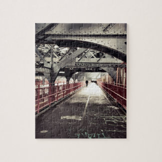New York City Architecture - Williamsburg Bridge Jigsaw Puzzle
