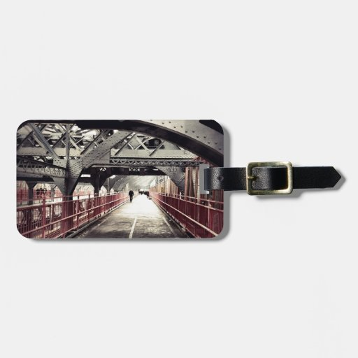 New York City Architecture - Williamsburg Bridge Tag For Bags