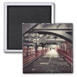 New York City Architecture - Williamsburg Bridge Magnets