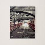 New York City Architecture - Williamsburg Bridge Jigsaw Puzzles
