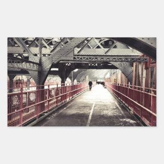 New York City Architecture - Williamsburg Bridge Stickers